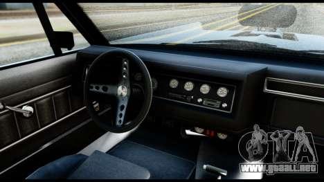 GTA 5 Vapid Chino Tuning v2 para la visión correcta GTA San Andreas