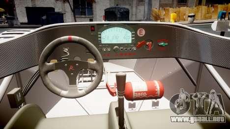 Radical SR8 RX 2011 [11] para GTA 4 vista interior