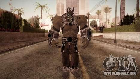 Bane Boss (Batman Arkham City) para GTA San Andreas segunda pantalla