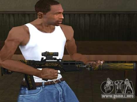 GTA 5 M4 para GTA San Andreas segunda pantalla