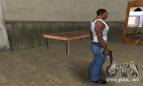 Klajk Deagle para GTA San Andreas tercera pantalla