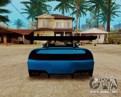 Infernus Lamborghini para visión interna GTA San Andreas