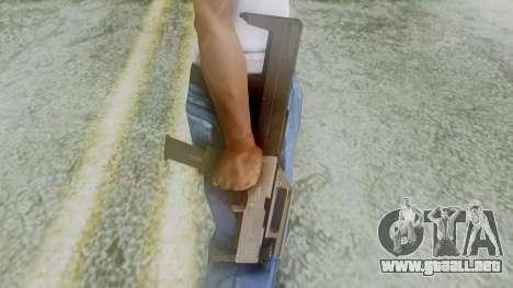 FMG-9 from Modern Warfare 3 para GTA San Andreas tercera pantalla