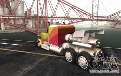 ShockWave Jet Truck para GTA San Andreas left