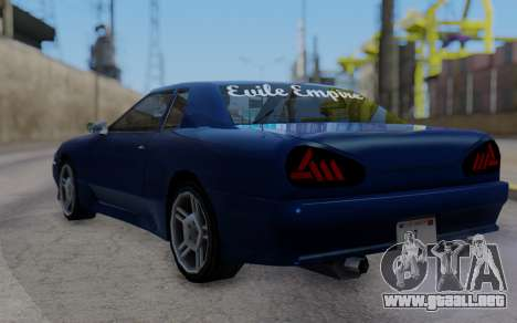Elegy New SWZ para GTA San Andreas left