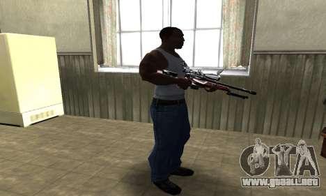 Redl Sniper Rifle para GTA San Andreas tercera pantalla