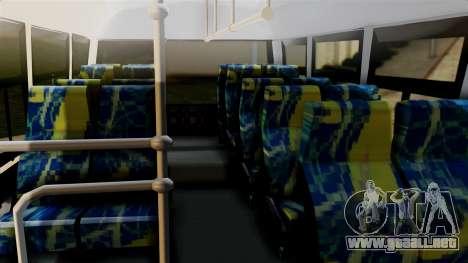 JAC Microbus para la visión correcta GTA San Andreas