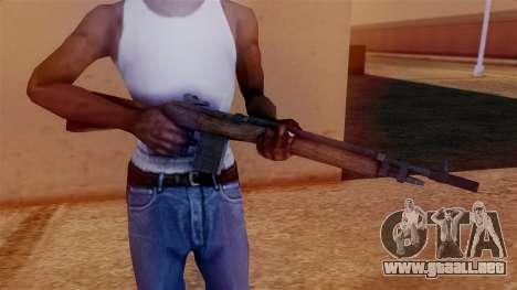 M14 Assault Rifle para GTA San Andreas tercera pantalla