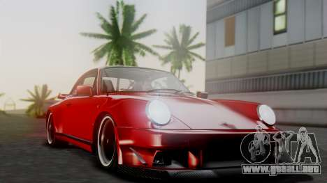 Porsche 911 Turbo (930) 1985 Kit A para vista inferior GTA San Andreas
