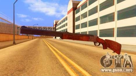Atmosphere Rifle para GTA San Andreas