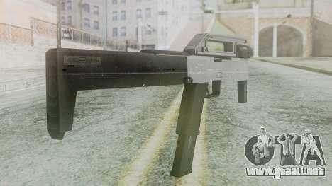 FMG-9 from Modern Warfare 3 para GTA San Andreas segunda pantalla