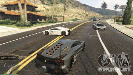 GTA 5 Drag Race 1.2a sexta captura de pantalla