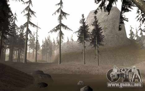 Una copia de la original de los árboles para GTA San Andreas tercera pantalla