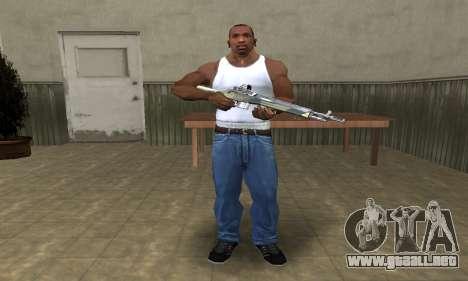 Military Rifle para GTA San Andreas tercera pantalla
