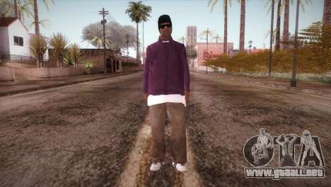 HD ballas3 Retextured para GTA San Andreas segunda pantalla