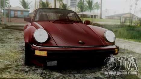 Porsche 911 Turbo (930) 1985 Kit C para la visión correcta GTA San Andreas