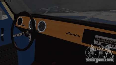 Dacia 1100 para la visión correcta GTA San Andreas