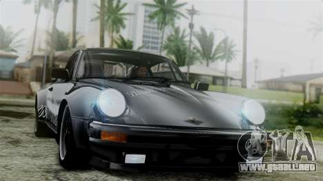 Porsche 911 Turbo (930) 1985 Kit C para la vista superior GTA San Andreas