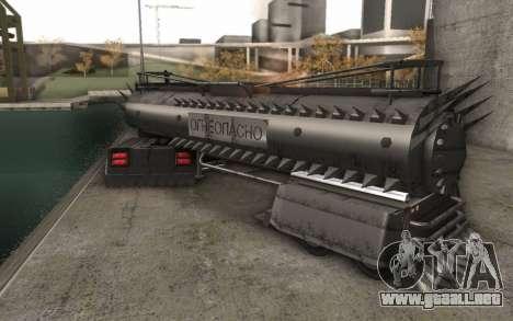 El trailer de Mad Max camión para GTA San Andreas