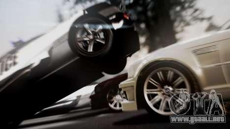 BMW M3 GTR Street Edition para la visión correcta GTA San Andreas