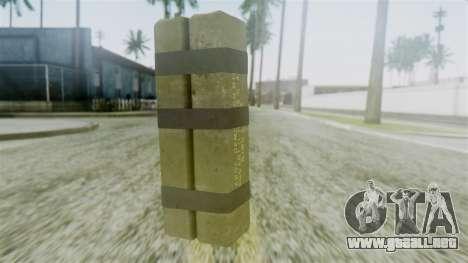 GTA 5 Sticky Bomb para GTA San Andreas segunda pantalla