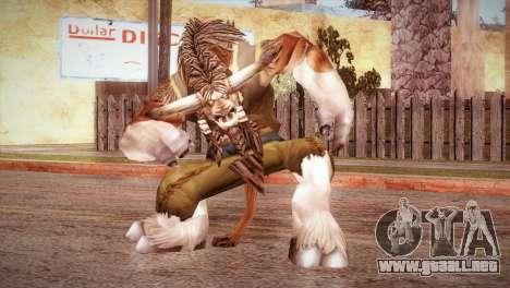 El Tauren para GTA San Andreas