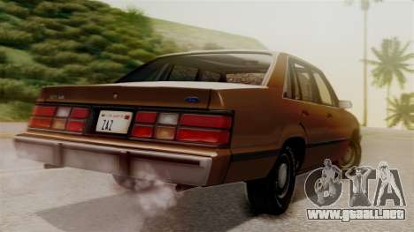 Ford LTD LX 1986 para GTA San Andreas left