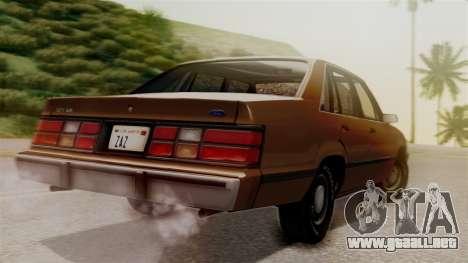 Ford LTD LX 1986 para GTA San Andreas left