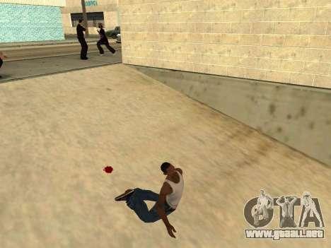 Ped.ifp Animación Gopnik para GTA San Andreas segunda pantalla
