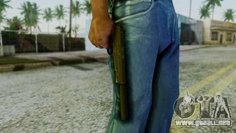 Silenced M1911 Pistol para GTA San Andreas tercera pantalla