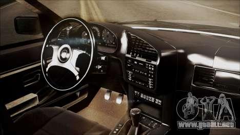 BMW M5 E36 para la visión correcta GTA San Andreas