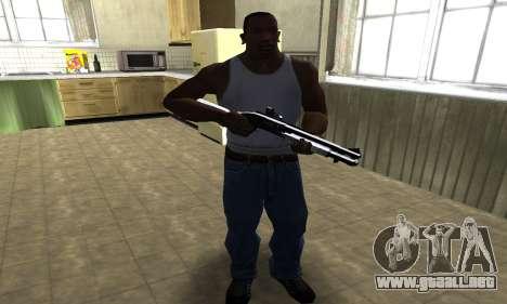 Black Shotgun para GTA San Andreas tercera pantalla