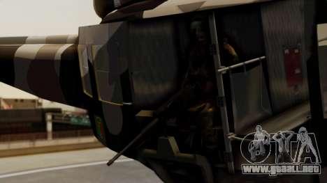 Bell UH-1 Paraguay para la visión correcta GTA San Andreas