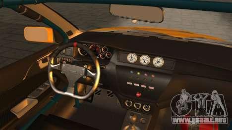 Mitsubishi Lancer Evolution 2015 para la visión correcta GTA San Andreas
