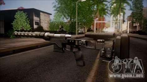300 Knockout from Battlefield Hardline para GTA San Andreas segunda pantalla