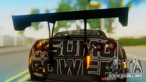 Nissan GT-R GT1 Sumo Tuning para GTA San Andreas vista hacia atrás