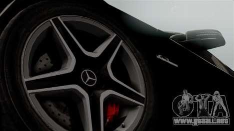 Mercedes-Benz C63 AMG 2015 Edition One para la visión correcta GTA San Andreas