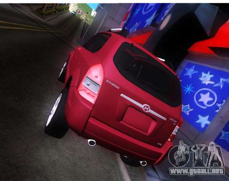 Hyundai Tucson para la visión correcta GTA San Andreas