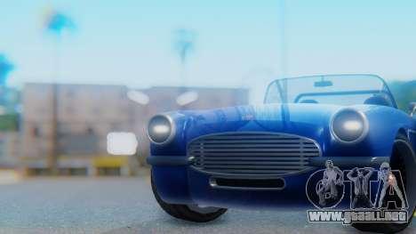 Invetero Coquette BlackFin Convertible para la visión correcta GTA San Andreas