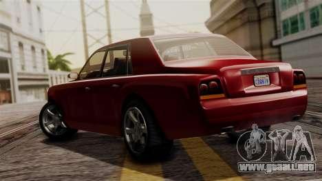 GTA 5 Enus Super Diamond IVF para GTA San Andreas left