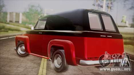 GTA 5 Vapid Slamvan IVF para GTA San Andreas left