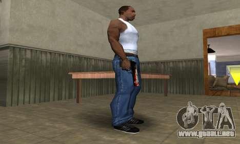 Totenkopf Deagle para GTA San Andreas segunda pantalla