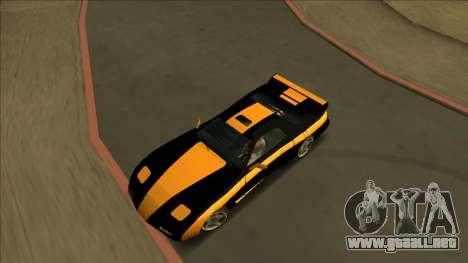 ZR-350 Road King para vista lateral GTA San Andreas