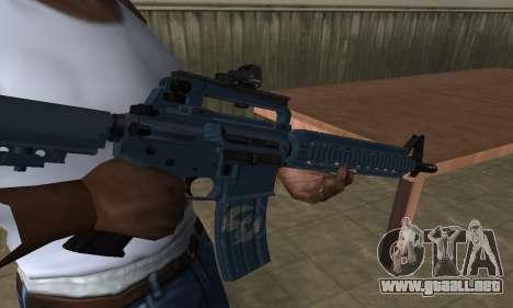 Counter Strike M4 para GTA San Andreas segunda pantalla