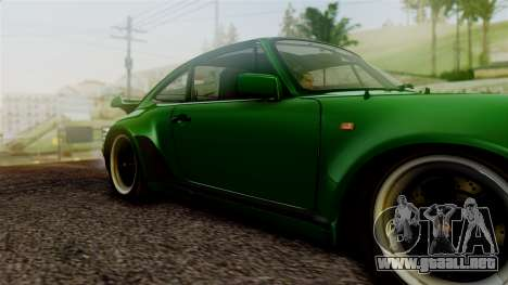 Porsche 911 Turbo (930) 1985 Kit A PJ para GTA San Andreas