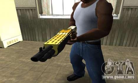 Wonder Combat Shotgun para GTA San Andreas segunda pantalla