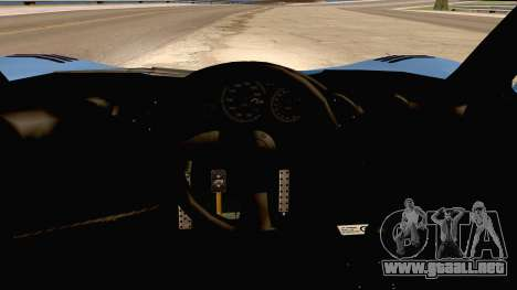 McLaren F1 LM 1995 para GTA San Andreas vista hacia atrás