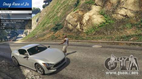 GTA 5 Drag Race 1.2a tercera captura de pantalla