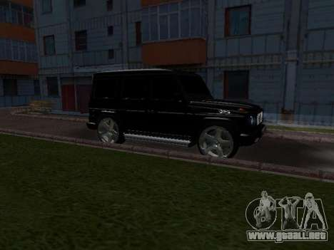 Mercedes-Benz G 320 para vista inferior GTA San Andreas