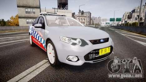 Ford Falcon FG XR6 Turbo Highway Patrol [ELS] para GTA 4